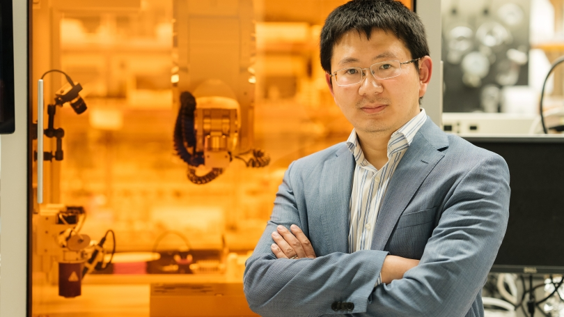 Chenfeng Ke, an assistant professor of chemistry